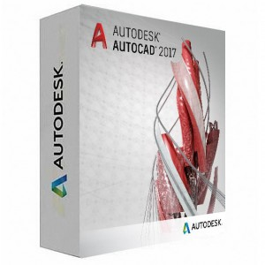 Autodesk AutoCAD 2017 (Full 3D) Commercial New Single-user ELD, Annual Subscription with Basic Support